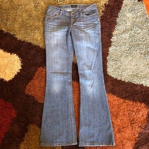 The Limited Wide Leg Blue Jean, Size 6L Long